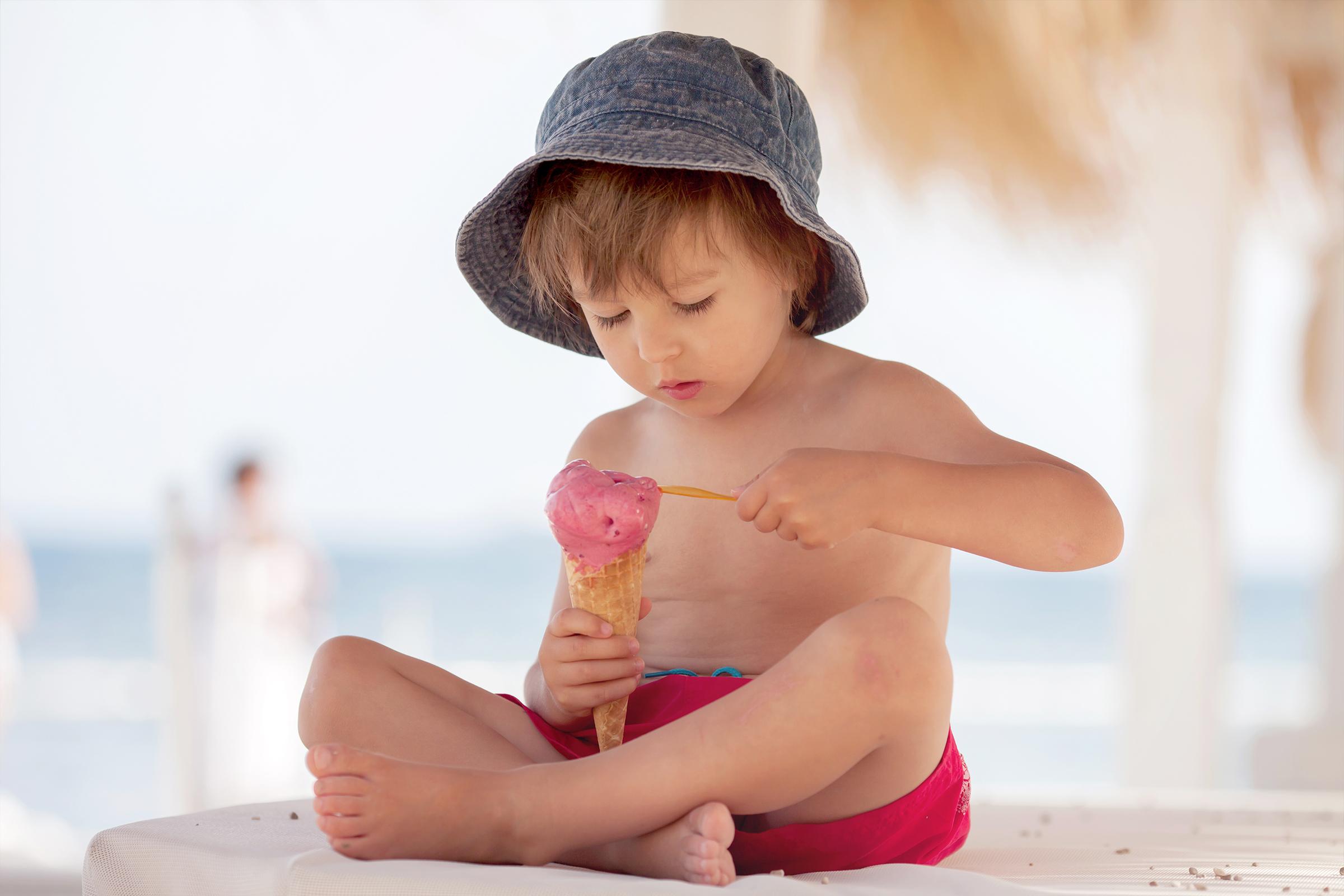 alimentazione bambini in vacanza
